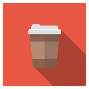 لیوان قهوه مصرف شده