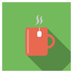 لیوان چای مصرف شده